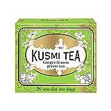 Kusmi Tea Té Verde con Jengibre y Limón - 20 Bolsitas