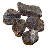 100 Gramm Saphir Rohsteine Wassersteine ca. 7-10 Steine Größe je ca. 15-25 mm.(4111)