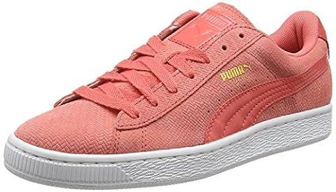 Puma Basketremastrdwf6 - Sneakers Basses - Femme - Rose (Rose 03) - 38 EU (5 UK)