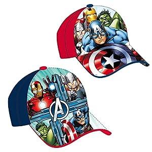 Cerdá Gorra Vengadores Avengers Marvel Red Blue surtida