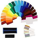 XCSOURCE® Filtros de Color de Gel para Iluminación de Flash, Conjunto Universal de 20 Unidades para Yongnuo 565EX DC657