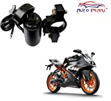 #10: Auto Pearl - Premium Quality Motor Bike Usb Mobile Charger For - KTM RC390