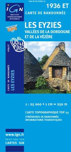 Les Eyzies / Vallees De La Dordogne Et De La Vezere - IGN.1936 ET - 1/25000