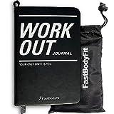 FastBodyFit Trainingstagebuch für Das Krafttraining mit über 200 Seiten, Progress Log und Kalender - Fitness Tagebuch Perfekt Geeignet für Das Fitness-Studio