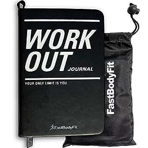 FastBodyFit Training Journal pour Le Musculation–DIN A6avec 200Pages–Fitness Journal Idéal pour Le Studio de Fitness