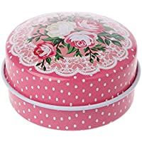 MIUSON Tablettenbox Tragbare Runde Tee Süßigkeiten Lagerung Dose Lippenstift Organizer Makeup Container preisvergleich bei billige-tabletten.eu