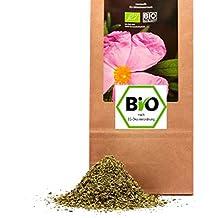 250 g Bio Cistus incanus Zistrosen Kraut geschnitten in geprüfter Premium Qualität aus Europa