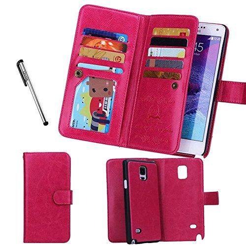Urvoix portafoglio/custodia per Samsung Galaxy Note 4, flip a...