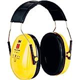 3M H510A-401-GU Cuffie Protettive, Temporale, 27 dB, Giallo