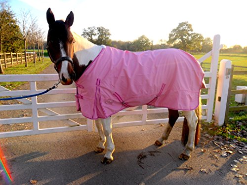 Cwell Equine - Alfombra para Lluvia (100% Impermeable,...