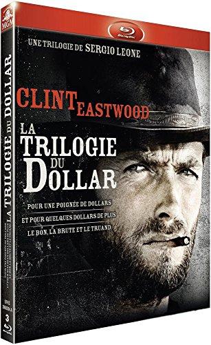Sergio Leone : La trilogie du dollar : Pour une poignée de dollars + Et pour quelques dollars de plus + Le bon, la brute et le truand [Francia] [Blu-ray]