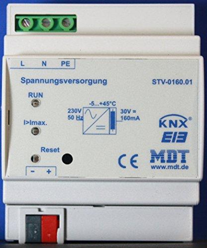 MDT TECHNOLOGIES Netzteil Spannungsversorgung EIB KNX STV-0160.01 REG 160mA