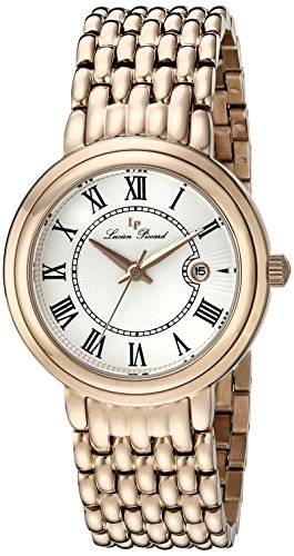 Lucien Piccard Womens Analogue Quartz Watch with Stainless Steel Strap LP-16539-RG-22S