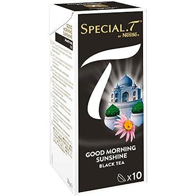 SPECIAL.T by Nestlé Thé Noir Good Morning Sunshine Boîte 10 Capsules 28 g - Lot de 6