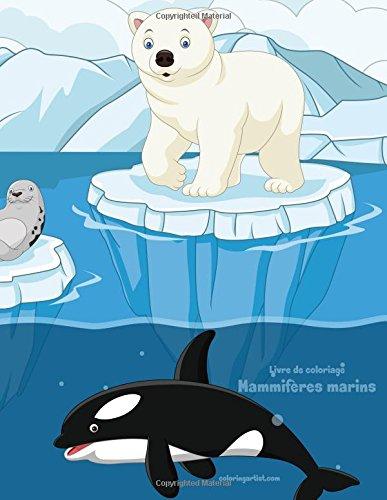 Livre de coloriage Mammifères marins 1