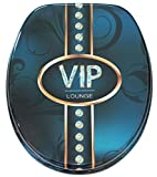 Soft Close Toilet Seat | Stable Hinges | Easy to mount | High-quality surface | VIP Lounge