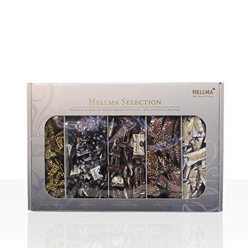 Hellma Hellrie gel Selection 5 x 40 Stück 200 g, 1er Pack (1 x 0.2 kg) (Kakao Mandeln)
