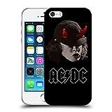 Ufficiale AC/DC ACDC Angus Young Corna Solo Cover Morbida In Gel Per Apple iPhone 5 / 5s / SE