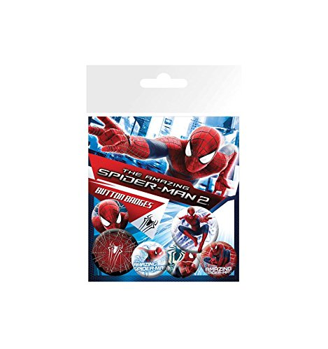GB eye The Amazing Spiderman 2 Rise of Electro Badge Pack