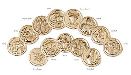 Preisvergleich Produktbild HOBBIT Sammelmünze The Edition 13 Münzen DIE SCHLACHT DER FÜNF HEERE HOBBIT 3