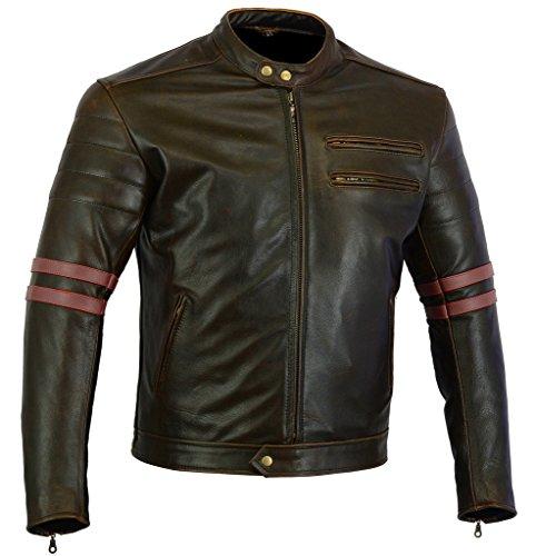 huge discount 30048 25a79 Australian Bikers Gear Nero Vector-Giacca sportiva da moto ...