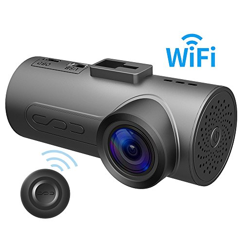 HaloCam C1 Plus Car Dash Cam FHD 1080P Car Video Recorder Built-in Wi-Fi Dashboard Camera with 170° Wide Angle Lens SONY Super Night Vision Loop Recording