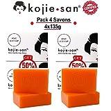 Kojie San Seife Aufhellende 4x135g Seife Kojic Acid Skin Soap Spezial-Set