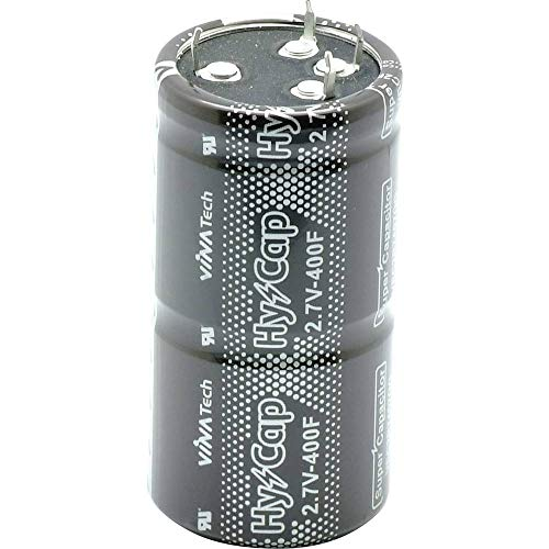 VINATech VEC2R7507QG Doppelschicht-Kondensator 500 F 2.7 V (Ø x H) 35 mm x 82 mm 1 St. 82-mm-snap