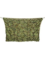 Filet De Camouflage,Cymall Camouflage Netting,chasse en plein air Camping Camo Net 2X3m Feuilles de bois Camouflage net Feuilles de jungle Camo Net For Military Shades Cover Cover