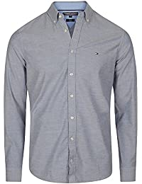 Tommy Hilfiger Oxford Stretch Slim Fit Shirt In Navy