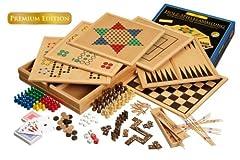 Philos 3101 - Holz-Spielesammlung, Premium
