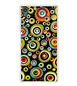Colourful Circular Pattern 2D Hard Polycarbonate Designer Back Case Cover for Sony Xperia Z5 :: Sony Xperia Z5 Dual