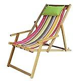 Patio Hammocks The Calypso Deck Chair, Multicolor