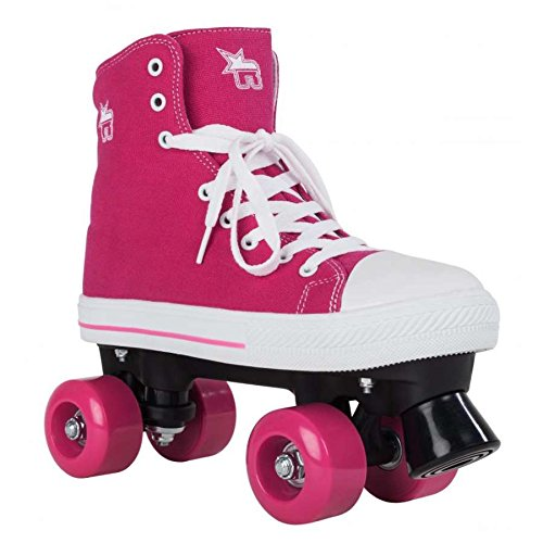 Rookie Canvas High Patines, Mujer, Pink, 39