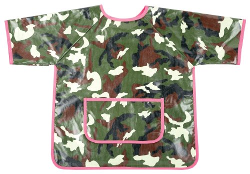 AM PM Enfants 63009 Camo rose Art Smock