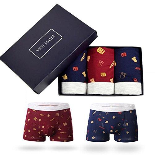 VENI MASEE® Sexy Sport Modal Unterwäsche der Herren Kurze Mehrfarbig11