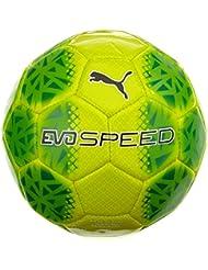 Puma Speed Ballon d'Entraînement Mixte Adulte, Safety Yellow/Green Gecko/Noir