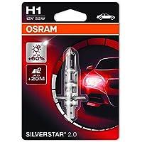 Osram SILVERSTAR 2.0 H1 Lampada alogena per proiettori 64150SV2-01B +60% mehr Licht - Blister singolo - Trova i prezzi più bassi su tvhomecinemaprezzi.eu
