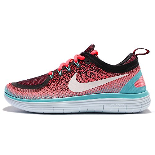 Nike Women's Free Rn Distance 2 Running, Scarpe Sportive Indoor Donna Hot Punch/White-polarized Blue