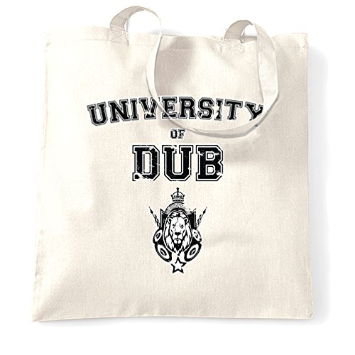Musica Sacchetto Di Tote University Of Dub suono Deterioramento Design System Reggae White