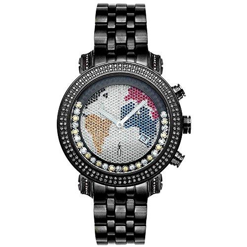 Joe Rodeo con orologio da Uomo - nero con 1,75 ctw