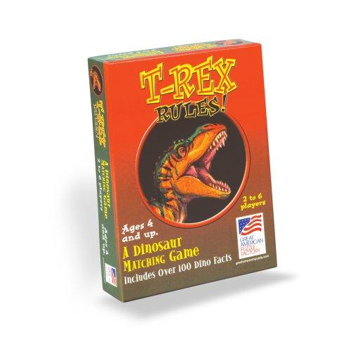 T-Rex Rules Matching Game [englischsprachige Version]