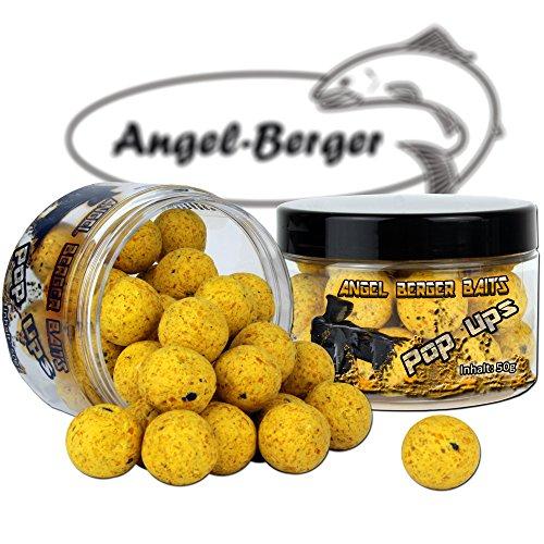 Angel Berger Magic Baits Pop Ups in verschiedenen Sorten (Fluo Yellow)