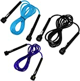 JLL® Skipping Rope 3m /10ft ADJUSTABLE Fitness Speed rope Jump Boxing Exercise Gym Jumping Workout