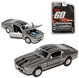 alles-meine.de GmbH Ford Shelby Mustang GT500 Eleanor Nur Noch 60 Sekunden 1/64 Greenlight Modell Auto