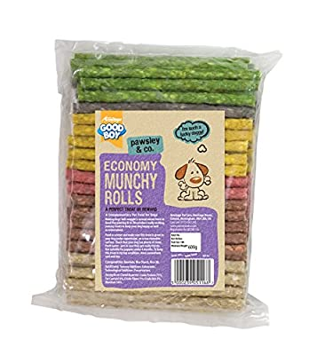 Goodboy 100 Assorted Rolls Dog Chews 125 mm x 7-8 mm, 600 g
