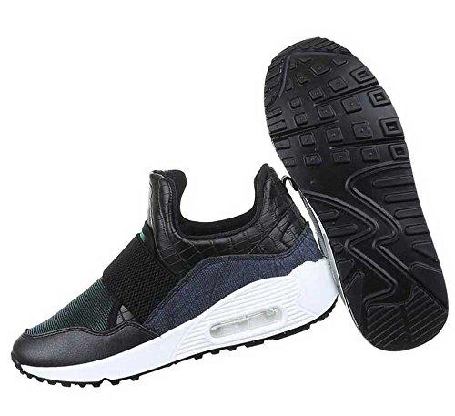 Damen Freizeitschuhe Schuhe Sneakers Streetwear Dunkelblau Dunkelblau