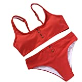 B-commerce Ladies Button Crop Top Shorts Bikini Set Donna T Back Knit Slim Costume da Bagno Swimwear 2019 Summer Beach Skinny Beachwear
