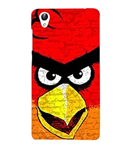 Vizagbeats angry bird Back Case Cover for Oppo A37
