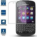 Beiuns Vidrio Templado Protector de Pantalla para BlackBerry Q10
